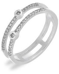 CARRIERE JEWELRY - Carriere Double Row Stackable Ring (nordstrom Exclusive) - Lyst