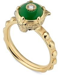 Gucci - Feline Head Ring - Lyst