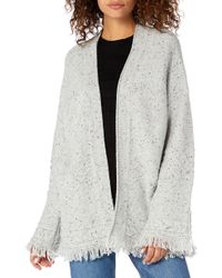 Michael Stars - Confetti Cable Bell Sleeve Cardigan - Lyst