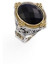Konstantino - 'nykta' Faceted Stone Ring - Lyst