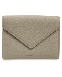 AllSaints - Voltaire Envelope Leather Card Case - - Lyst
