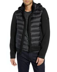 Tumi - Quilted Down And Neoprene Hooded Jacket - Lyst