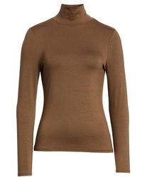 French Connection - Fira Mock Neck Top - Lyst