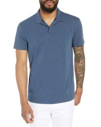 Theory - Willem Strato Regular Fit Polo - Lyst