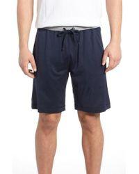 Daniel Buchler - Silk & Cotton Lounge Shorts - Lyst