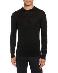 AllSaints - Mode Slim Fit Merino Wool Sweater - Lyst