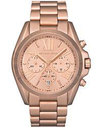 Michael Kors - Bradshaw Chronograph Bracelet Watch - Lyst