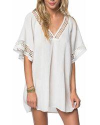 O'neill Sportswear - Celeste Cover-up Dress - Lyst