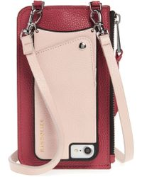Bandolier - Emma Leather Iphone 7/8 & 7/8 Plus Crossbody Case - - Lyst