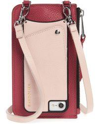 Bandolier - Emma Leather Iphone 7/8 & 7/8 Plus Crossbody Case - Lyst