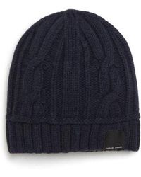 Canada Goose - Cabled Merino Wool Toque Beanie - - Lyst