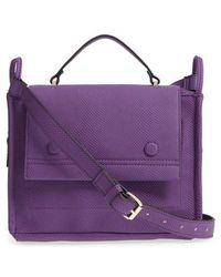 Danielle Nicole - Nolan Faux Leather Crossbody Bag - Purple - Lyst