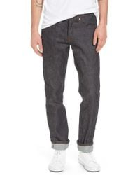 Naked & Famous - Weird Guy Slim Fit Jeans - Lyst