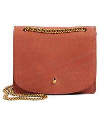Madewell - Leather Crossbody Wallet - - Lyst