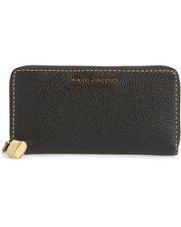 Marc Jacobs - The Grind Standard Continental Wallet - Lyst