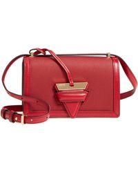 Loewe - Small Barcelona Grainy Leather Crossbody Bag - Lyst