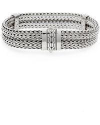 John Hardy - Classic Chain Double Row Bracelet - Lyst