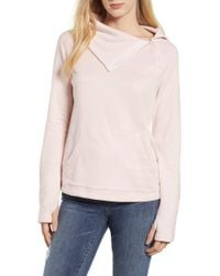 Gibson - X Living In Yellow Judy Plush Fleece Pullover - Lyst