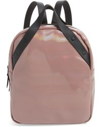 Rains - Go Holographic Waterproof Backpack - - Lyst