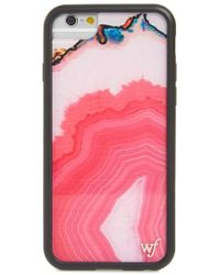 Wildflower - Magenta Stone Iphone 6/7/8 Plus Case - - Lyst