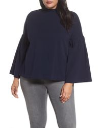 Two By Vince Camuto - Bell Sleeve Top - Lyst