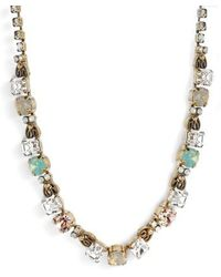 Sorrelli - Forsythia Crystal Necklace - Lyst