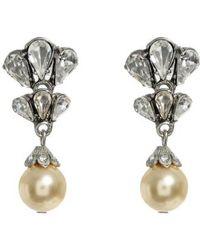 Ben-Amun | Faux Pearl Drop Earrings | Lyst