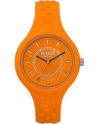 Versus - Fire Island Silicone Strap Watch - Lyst