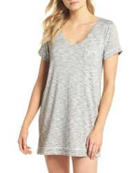Nordstrom - Moonlight Sleep Shirt - Lyst