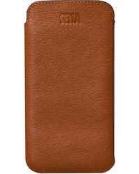 Sena - Ultraslim Iphone 6/7/8 Plus Leather Sleeve - - Lyst