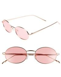 Privé Revaux - X Madelaine Petsch The Candy 50mm Round Sunglasses - Lyst