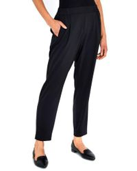 Wallis | Henna Stretch Crepe Trousers | Lyst