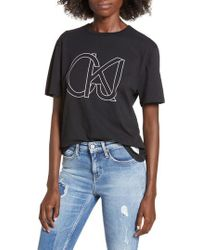 Calvin Klein - Easy Graphic Tee - Lyst