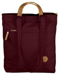 Lyst - Burberry Prorsum Burgundy Ombre Leather Cloption Tote in Red ... 97d403e36709c