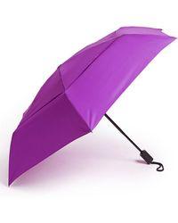 Shedrain - 'windpro' Auto Open & Close Umbrella - Purple - Lyst
