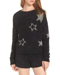 Make + Model - Fuzzy Crop Sweater - Lyst