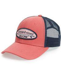 Vineyard Vines - Surf Patch Trucker Hat - Lyst