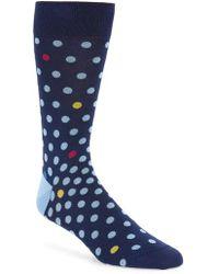 Bugatchi - Dot Socks - Lyst