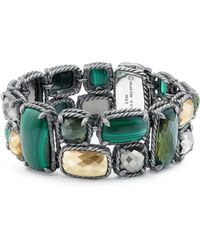 David Yurman - Chatelaine Mosaic Bracelet With 18k Gold - Lyst