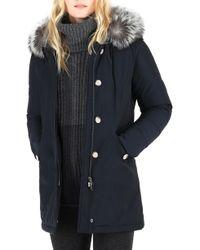 Woolrich - Luxury Arctic Down Parka With Genuine Fox Fur Trim - Lyst