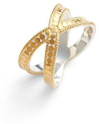 Anna Beck | 'gili' Crossover Ring | Lyst