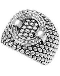 Lagos - 'enso' Diamond Statement Ring - Lyst