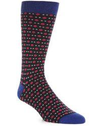 Ted Baker - Polka Dot Socks - Lyst
