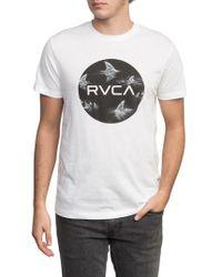 RVCA - Motors Fill-up T-shirt - Lyst