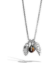 John Hardy - Legends Eagle Amulet Pendant Necklace - Lyst