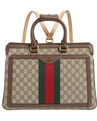 Gucci - Ophidia Gg Supreme Canvas Convertible Backpack - Lyst
