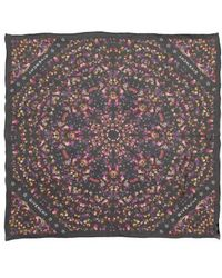 Givenchy | Wild Pansy Silk Scarf | Lyst