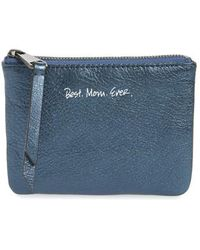 Rebecca Minkoff | Betty - Best Mom Ever Leather Pouch | Lyst