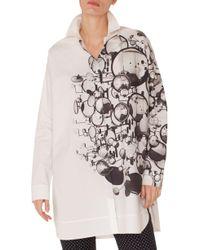Akris Punto - Mirror Print Tunic Shirt - Lyst