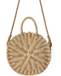 1262896f34b4 Billabong - X Sincerely Jules Keep It Simple Woven Shoulder Bag - Lyst